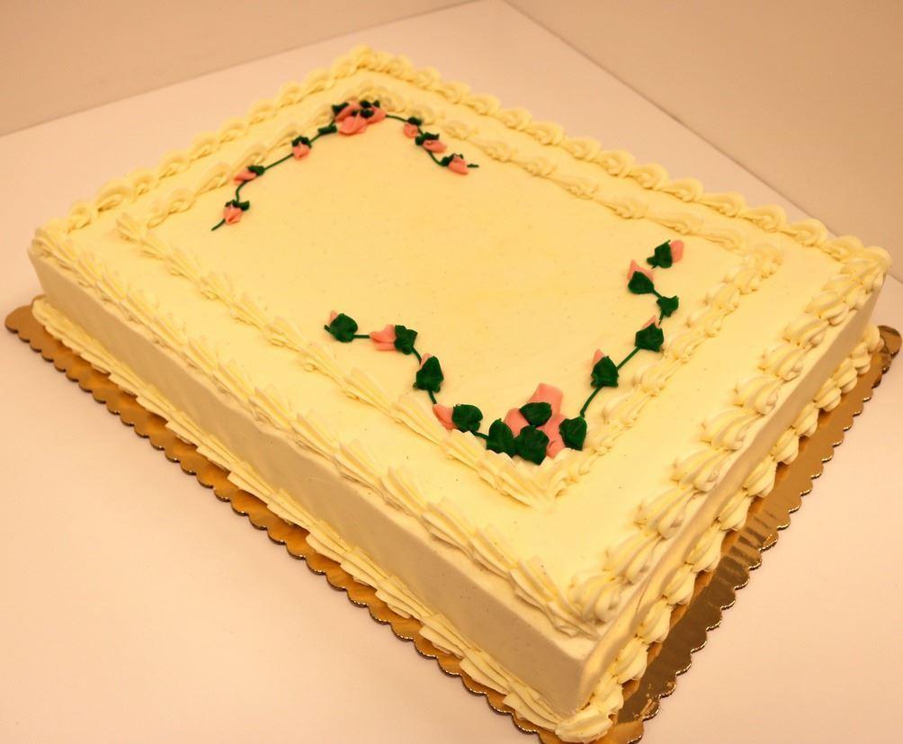 Campus Store Half Sheet Cake